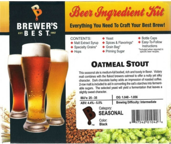 Brewer's Best Oatmeal Stout Ingredient Kit