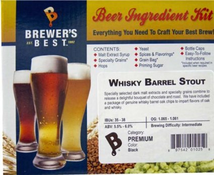 Brewer's Best Whisky Barrel Stout Ingredient Kit