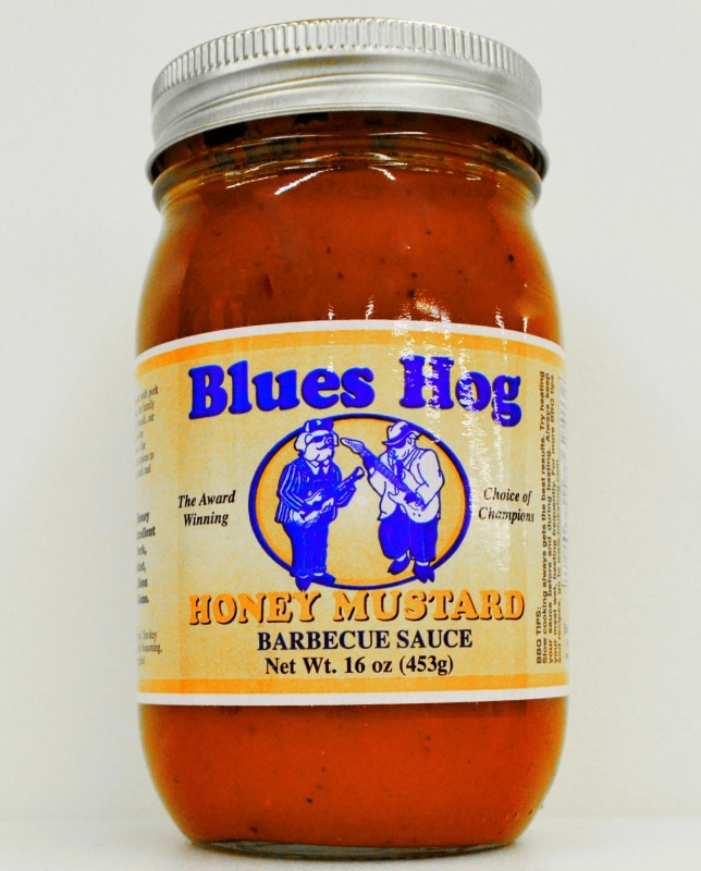 Blues Hog Honey Mustard Sauce 16 Ounce Jar
