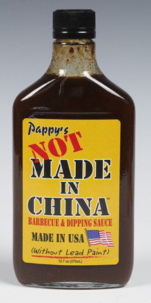 Not Made In China BBQ Sauce 375 ML