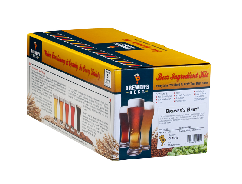Brewer's Best India Red Rye Ale Ingredient Kit
