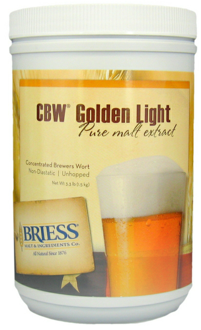 Briess Liquid Malt Extract, Golden Light