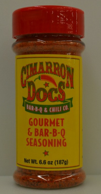 Cimarron Docs Gourmet & BBQ Seasoning 6.6oz