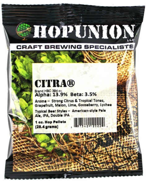 US Citra Hop Pellets 1oz