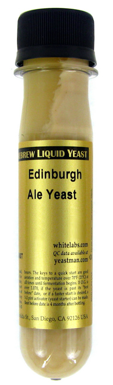 White Labs Edinburg Scottish Ale Liquid Yeast 028