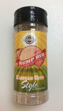 Excalibur Rump Rub Traditional Kansas City Style7oz