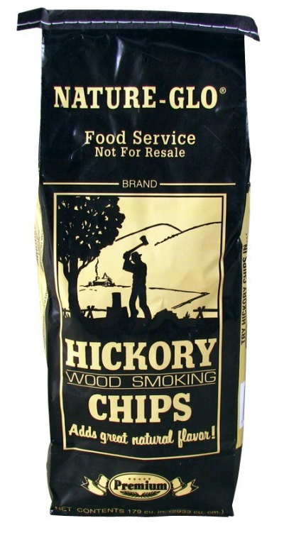 Hickory Wood Chips LARGE