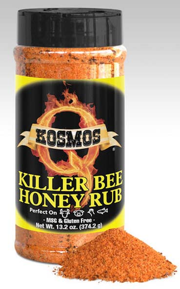Kosmos Q Spicy Killer Bee Honey Rub LARGE