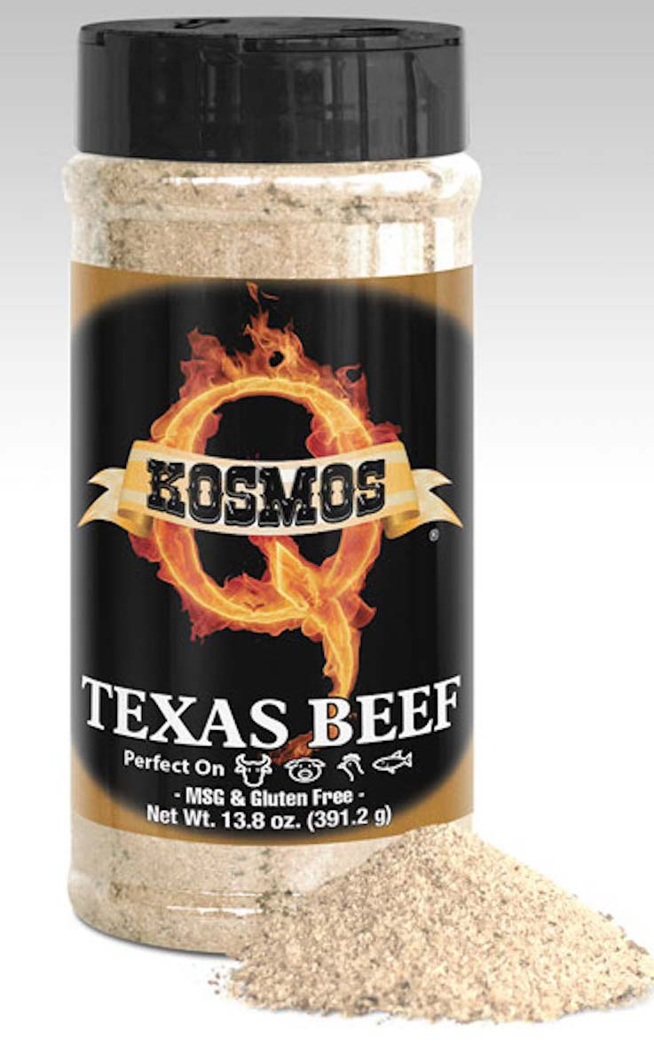 Kosmos Q Texas Beef Rub 16 Oz Bottle THUMBNAIL