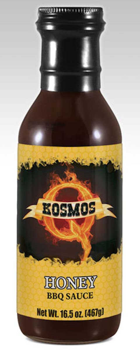 Kosmos Q Honey BBQ Sauce THUMBNAIL