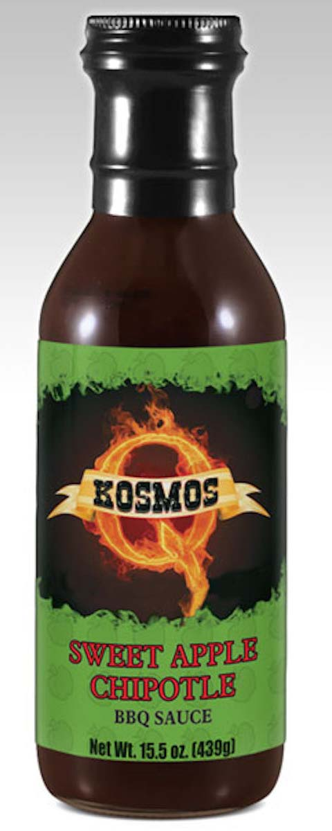 Kosmos Q Sweet Apple Chipotle BBQ Sauce THUMBNAIL