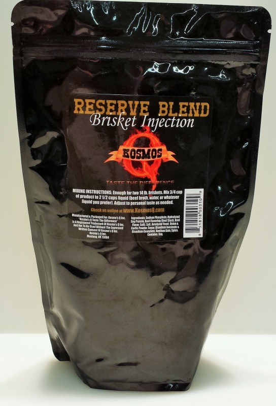 Kosmo's Q Reserve Blend Brisket Injection