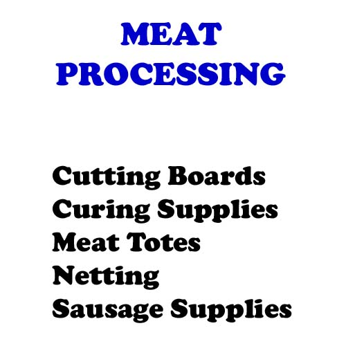 Meat Processing Supplies