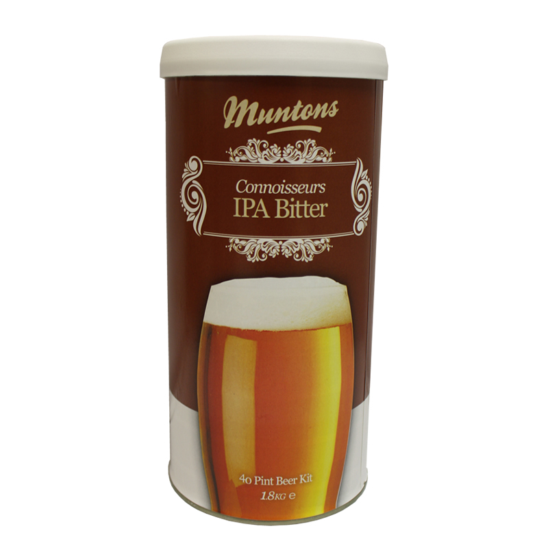 Muntons Liquid Malt Extract Kit, Connoissuer IPA Bitter