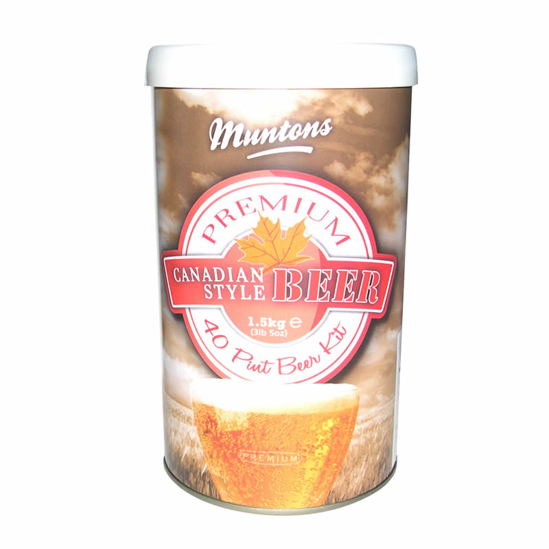 Muntons Liquid Malt Extract Kit, Premium Canadian Style_THUMBNAIL