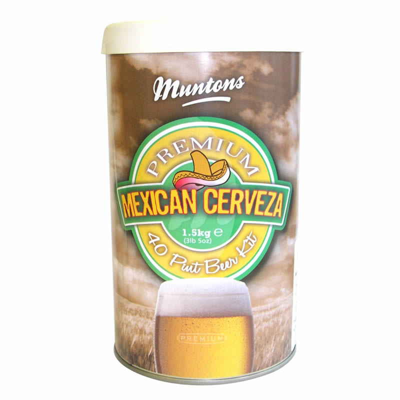 Muntons Liquid Malt Extract Kit, Premium Mexican Cervesa Malt LARGE