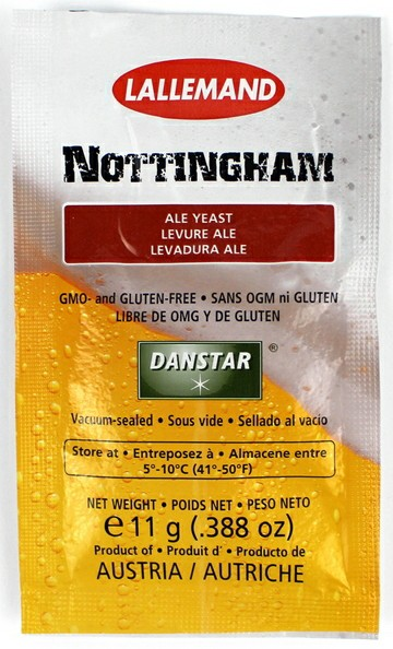 Lallemand Nottingham Dry ale Yeast 11 Grams