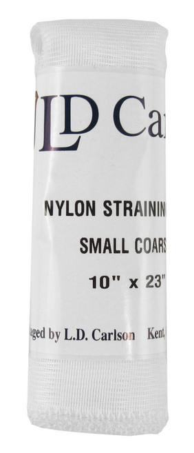 "Small Coarse Nylon Straining Bag 10"" x 23"" LARGE"