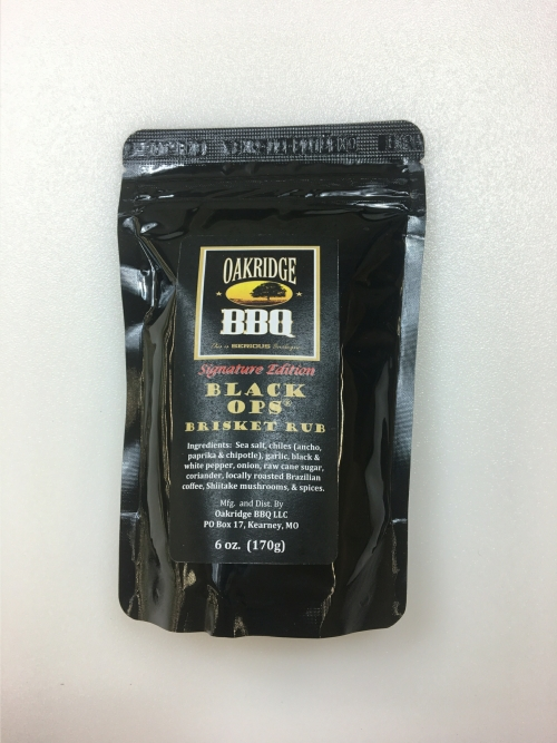 Oakridge BBQ Signature Edition Black Ops Brisket Rub 6 OZ