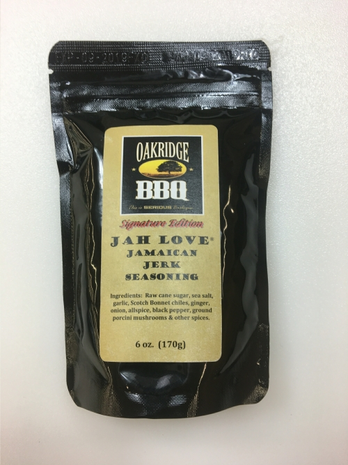 Oakridge BBQ  Jah Love Jamaican Jerk