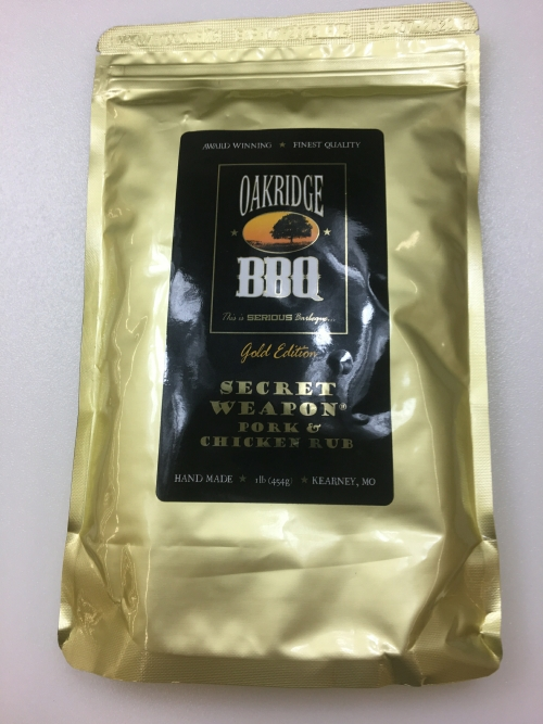 Oakridge BBQ Secret Weapon Pork & Chicken Rub 1lb LARGE