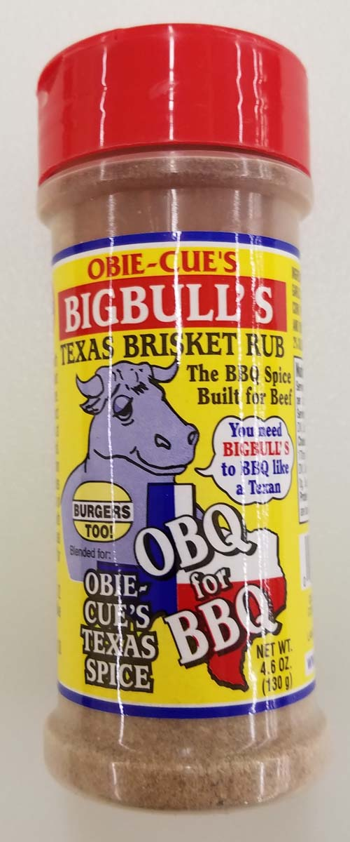 Obie-Cue Big Bulls Brisket Rub 4.6 OZ