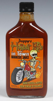 Pappys Hottest Ride In Town BBQ Sauce 375 ML