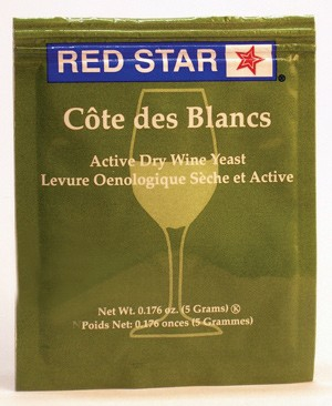 Red Star Cote Des Blanc Epernay 2 Wine Yeast LARGE