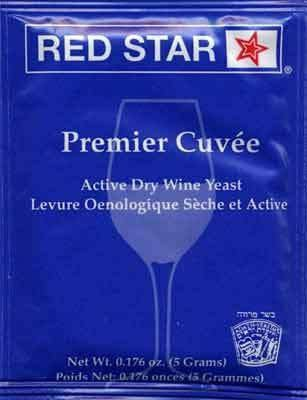 Red Star Premier Cuvee Prise De Mousse Wine Yeast THUMBNAIL