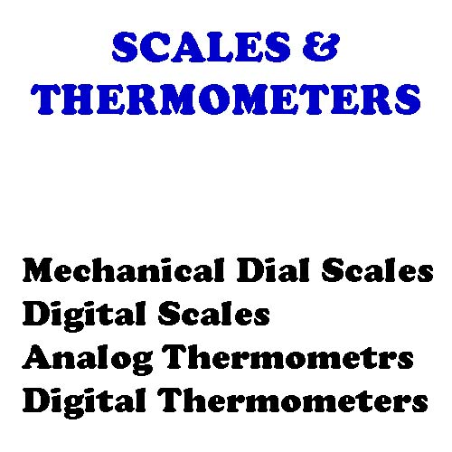 Meat Scales & Thermometers