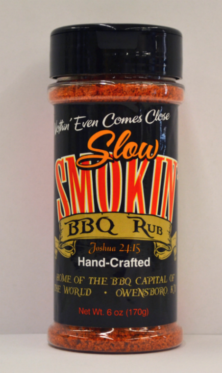 Slow Smokin BBQ Rub 6 oz Bottle