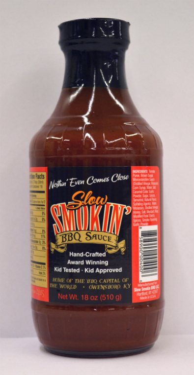 Slow Smokin BBQ Sauce 18 Ounce Bottle