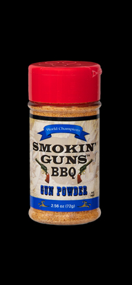 Smokin Guns Gun Powder Rub 2.8 OZ Bottle