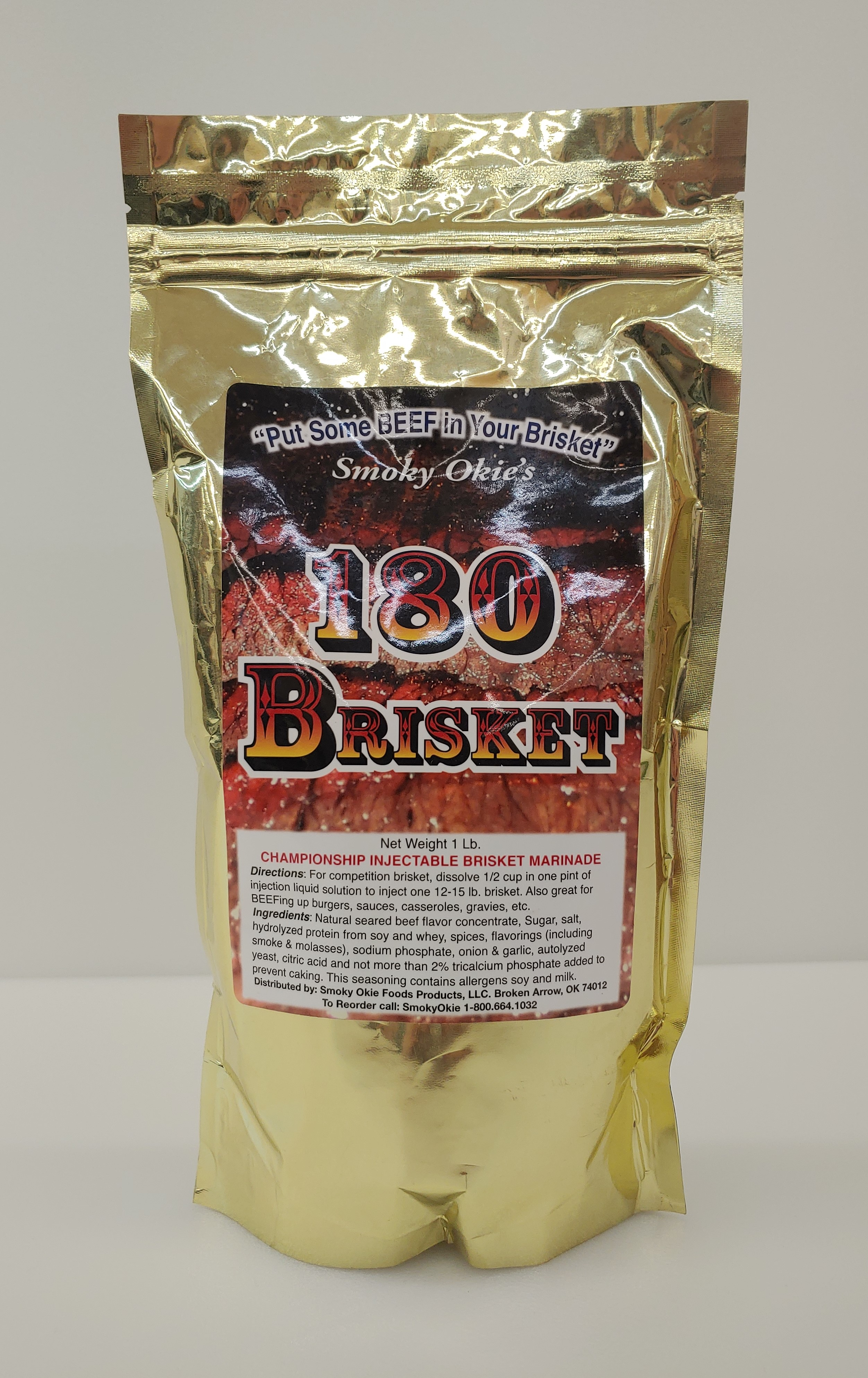 Smoky Okie's 180 Brisket Injection Marinade THUMBNAIL