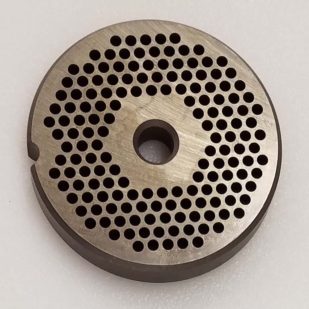 "Speco 12 Meat Grinder Plate 1/8"" Holes"