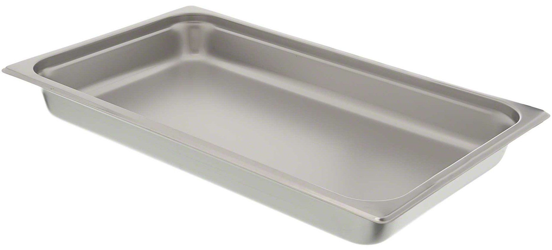 "Economy Weight 2 1/2"" Stainless Steel Steam Table Pan"