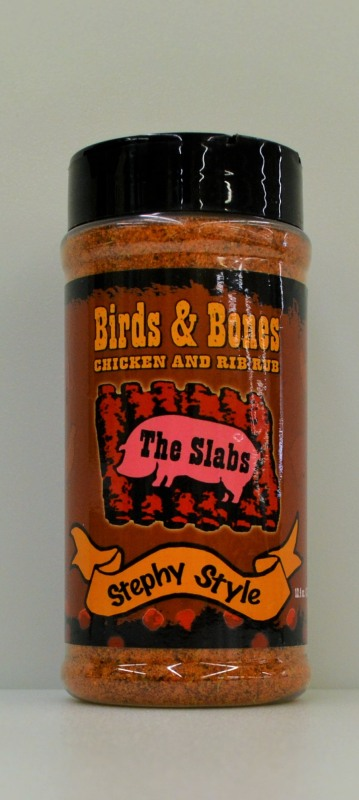 The Slabs Birds & Bones, Chicken and Rib Rub, 12.5 OZ Container THUMBNAIL