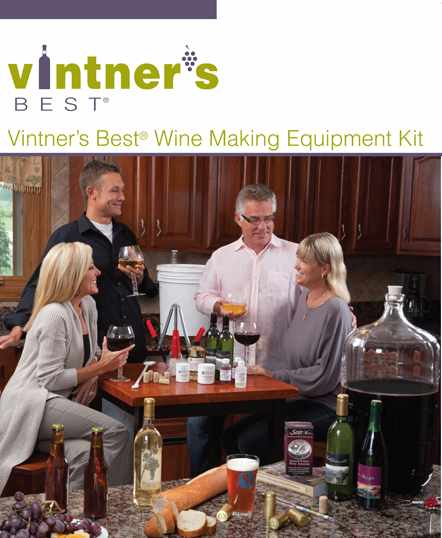 Vinter's Best Wine Equipment Kit LARGE