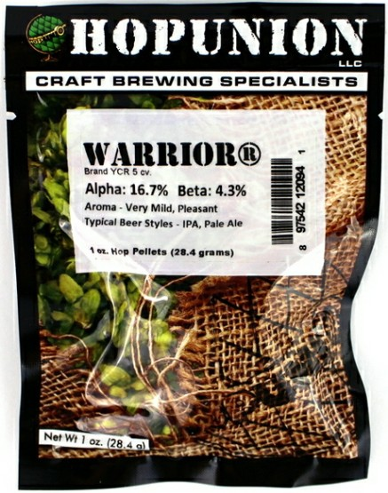 Warrior Hop Pellets 1oz