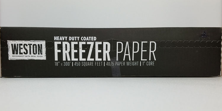 Weston Heavy Duty Freezer Paper THUMBNAIL