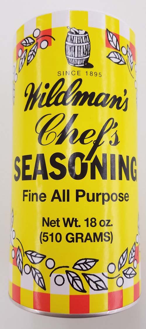 Wildman's Chef Seasoning LARGE
