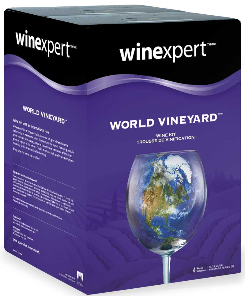 World Vinyard Italian Pino Grigio Wine Ingredient Kit
