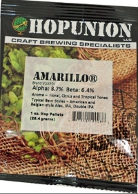 Amarillo Hop Pellets 1 oz LARGE