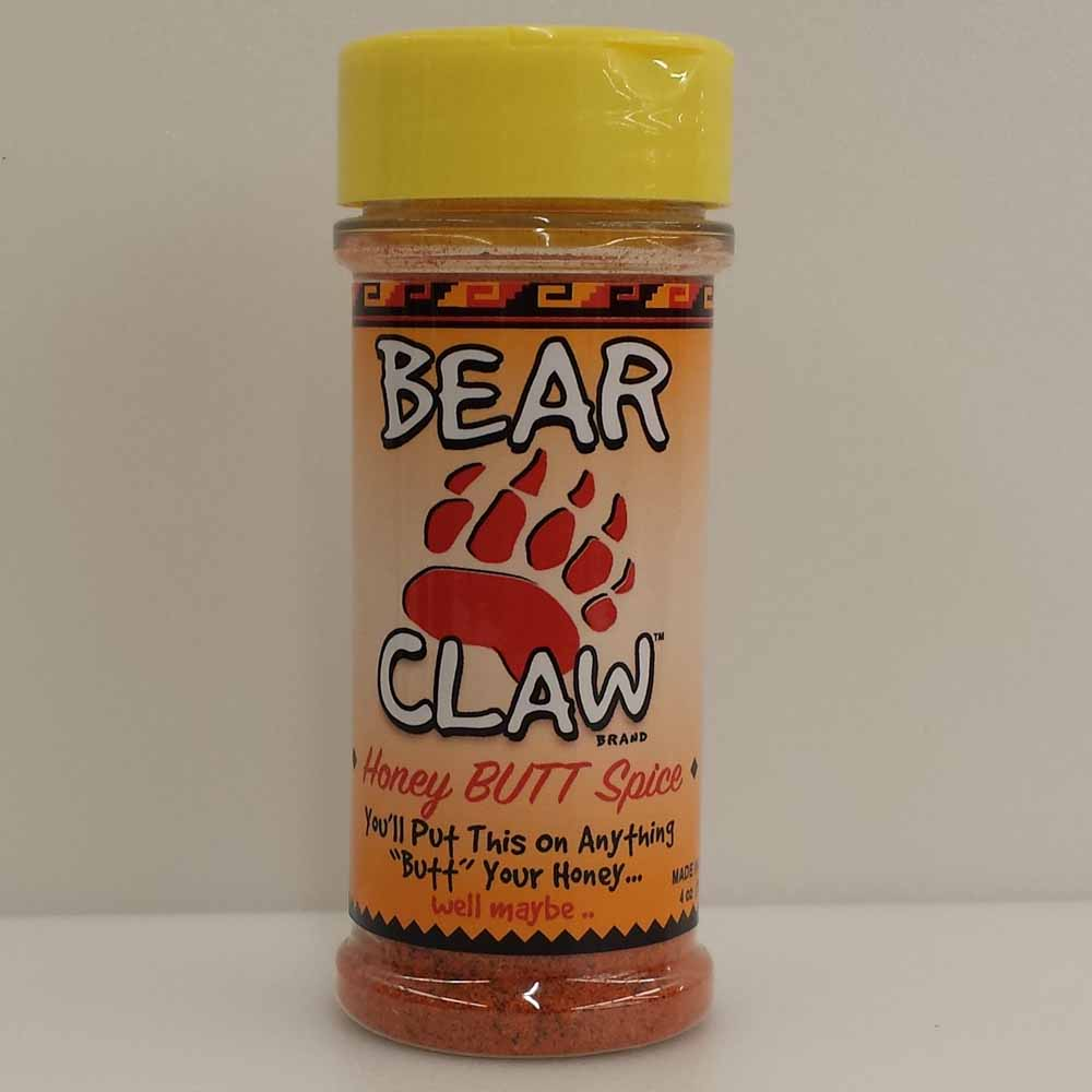 Bourbon Q Bear Claw Honey Butt Spice 4 Oz LARGE
