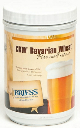 Briess Liquid Malt Extract, Bavarian Wheat