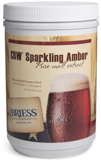 Briess Liquid Malt Extract, Sparkling Amber