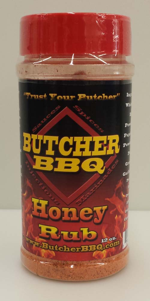 Butcher BBQ Honey Rub 12oz THUMBNAIL