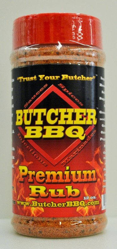 Butcher BBQ Premium Rub 12 OZ LARGE