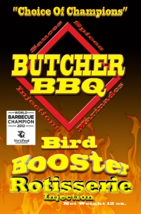 Butcher BBQ Bird Booster Rotisserie Injection 12oz