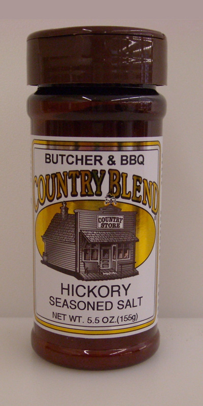 Country Blend Hickory Seasoned Salt 5.5oz